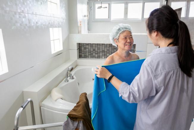 How to Make Bath-Times Less Awkward